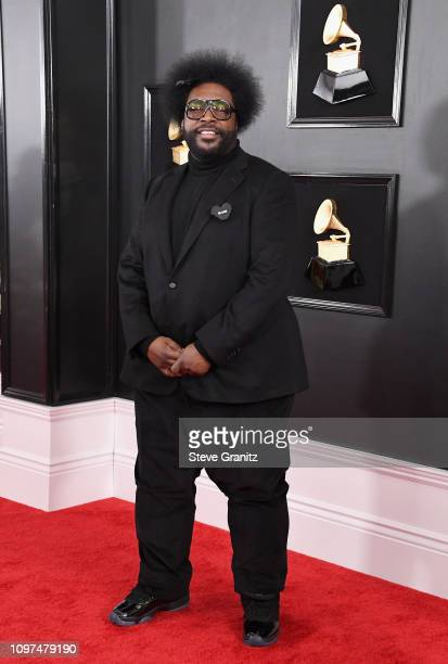 Questlove attends the 61st Annual GRAMMY Awards at Staples Center on February 10 2019 in Los Angeles California