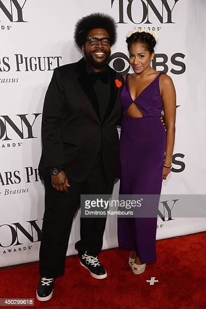 Questlove attends the 68th Annual Tony Awards at Radio City Music Hall on June 8 2014 in New York City