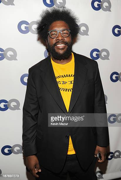 Questlove attends the GQ Men of the Year dinner on November 11 2013 in New York City