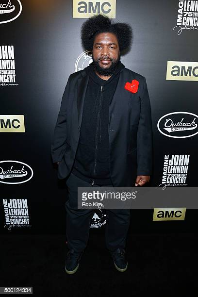 Questlove attends the Imagine John Lennon 75th Birthday Concert at Madison Square Garden on December 5 2015 in New York City