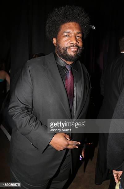 Questlove attends the official launch of GREY GOOSE Le Melon hosted by GREY GOOSE Vodka at The New York Public Library on May 9 2014 in New York City
