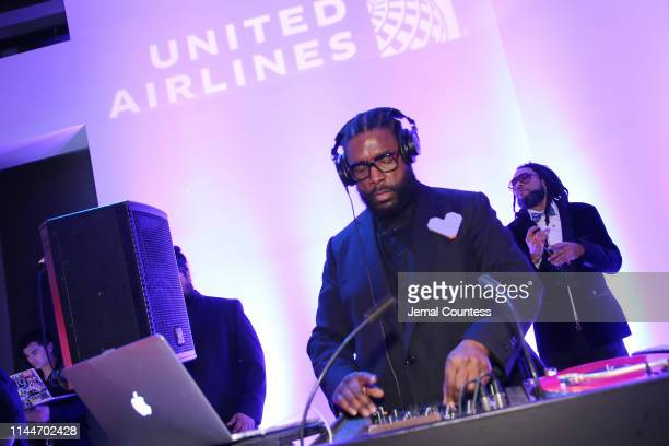 Questlove attends the TIME 100 Gala 2019 Cocktails at Jazz at Lincoln Center on April 23 2019 in New York City