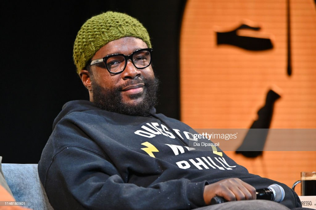 Tribeca Talks - Storytellers - Questlove With Boots Riley - 2019 Tribeca Film Festival : News Photo