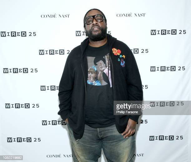 Questlove attends WIRED25 Summit WIRED Celebrates 25th Anniversary With Tech Icons Of The Past Future on October 15 2018 in San Francisco California