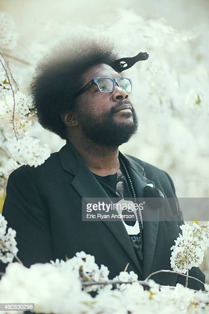 Questlove for Brooklyn Magazine on April 9 2015 in New York City