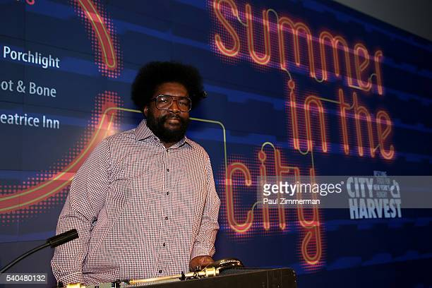 Questlove performs onstage at City Harvest's Summer In The City 2016 at IAC HQ on June 15 2016 in New York City