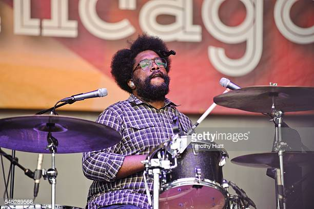 Questlove performs with The Roots on Day One of the Taste Of Chicago at Grant Park on July 6 2016 in Chicago Illinois