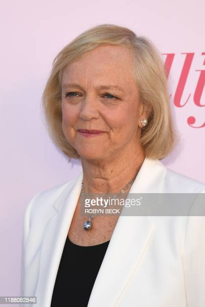 Quibi CEO Meg Whitman attends the Hollywood Reporter's annual Women in Entertainment Breakfast Gala on December 11 2019 at Milk Studios in Hollywood...