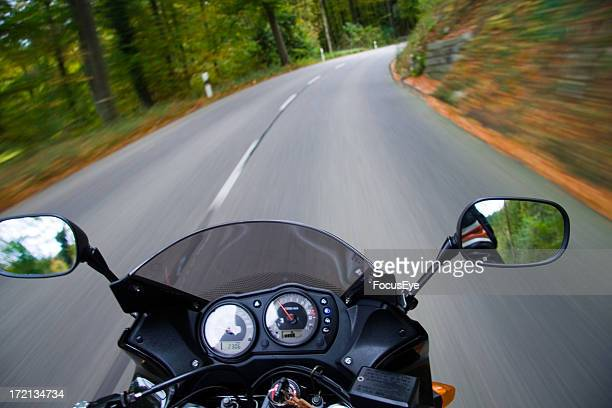 quick bike - motorcycle racing stock pictures, royalty-free photos & images