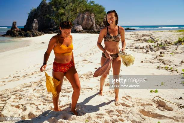 Quick on the Draw Michele Fitzgerald and Parvati Shallow on the Sixth episode of SURVIVOR WINNERS AT WAR airing Wednesday March 18 on the CBS...