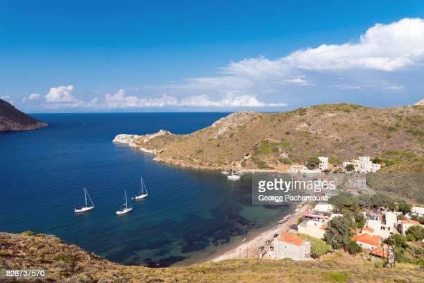 Quiet bay at Porto Kagio, Peloponesse, Greece