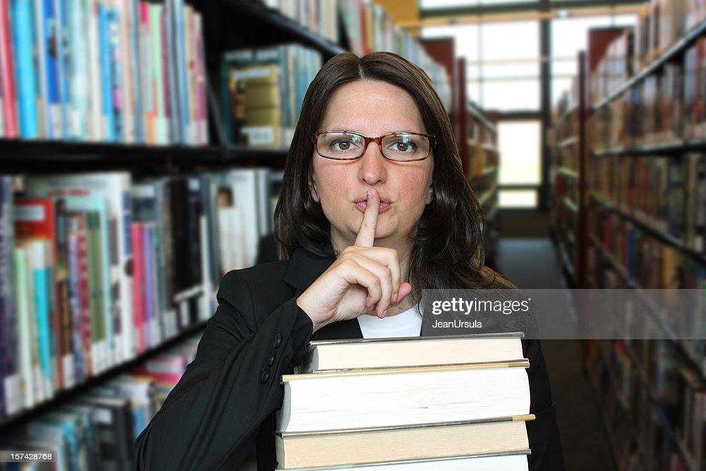 Quiet, Please! : Stock Photo