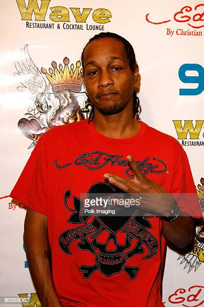 Quik attends the Ed Hardy store opening at the Beverly Center on December 1, 2007 in Los Angeles, California.
