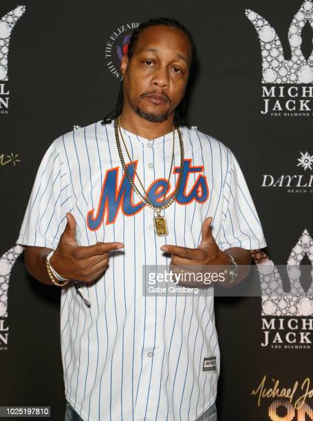 Quik attends the Michael Jackson diamond birthday celebration at Daylight Beach Club at Mandalay Bay Resort and Casino on August 29 2018 in Las Vegas...