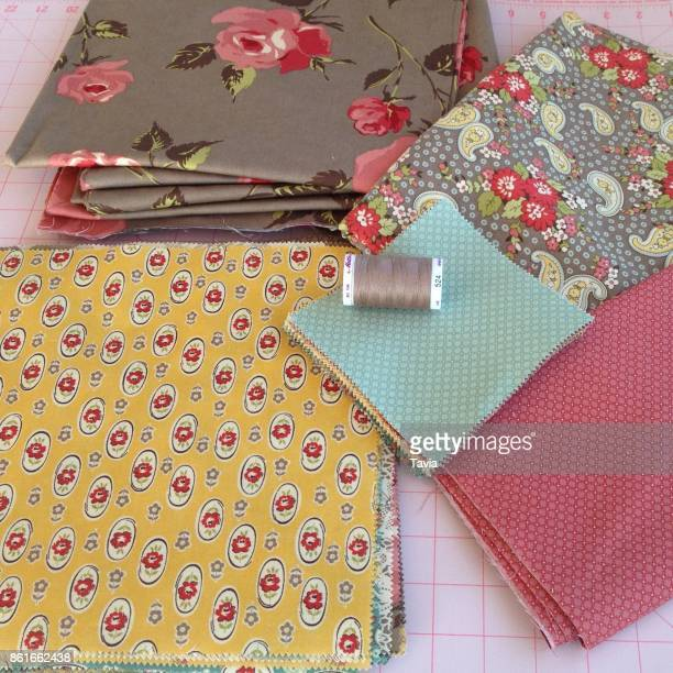 quilt prep - patchwork stock pictures, royalty-free photos & images