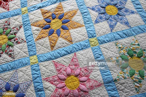 quilt series 1 - quilted stock pictures, royalty-free photos & images