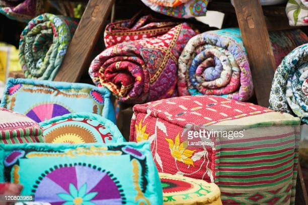 Quilts and pillows
