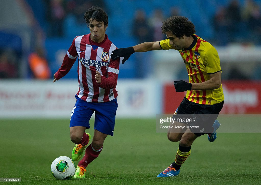 Club Atletico de Madrid v Sant Andreu - Copa del Rey: Round of 32 : News Photo