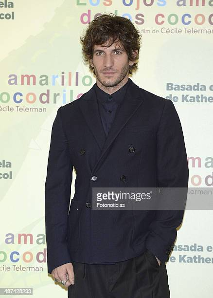 Quim Gutierrez attends a photocall for 'Los Ojos Amarillos de los Cocodrilos' at the Santo Mauro Hotel on April 30 2014 in Madrid Spain