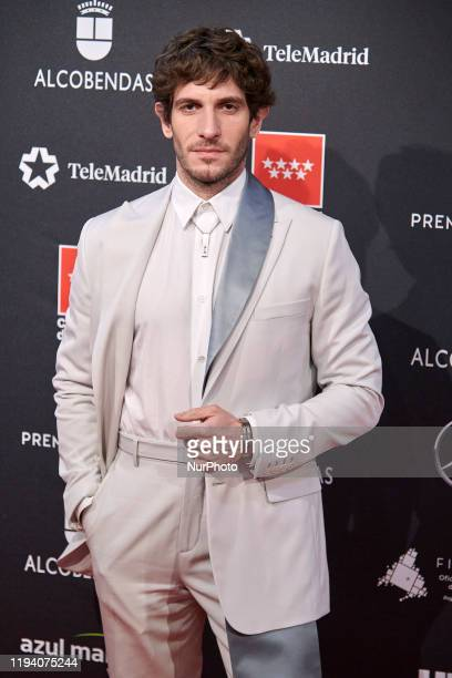 Quim Gutierrez attends the 'FEROZ' awards 2020 Red Carpet photocall at Teatro Auditorio Ciudad de Alcobendas in Madrid Spain on Jan 16 2020