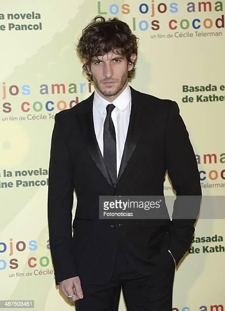 Quim Gutierrez attends the 'Los Ojos Amarillos de los Cocodrilos' premiere the Academia del Cine on April 30 2014 in Madrid Spain