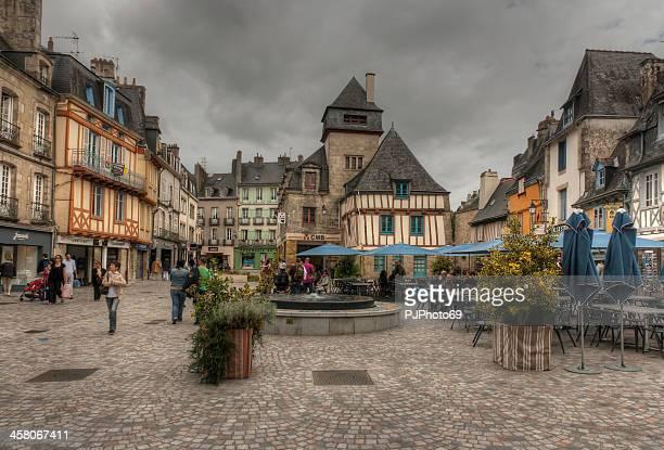 Quimper (Brittany) - Place de la Terre au Duc