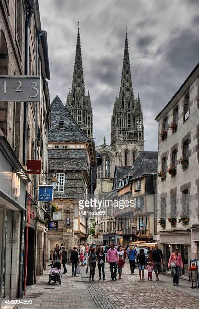 Quimper (Brittany) - Rue Kereon