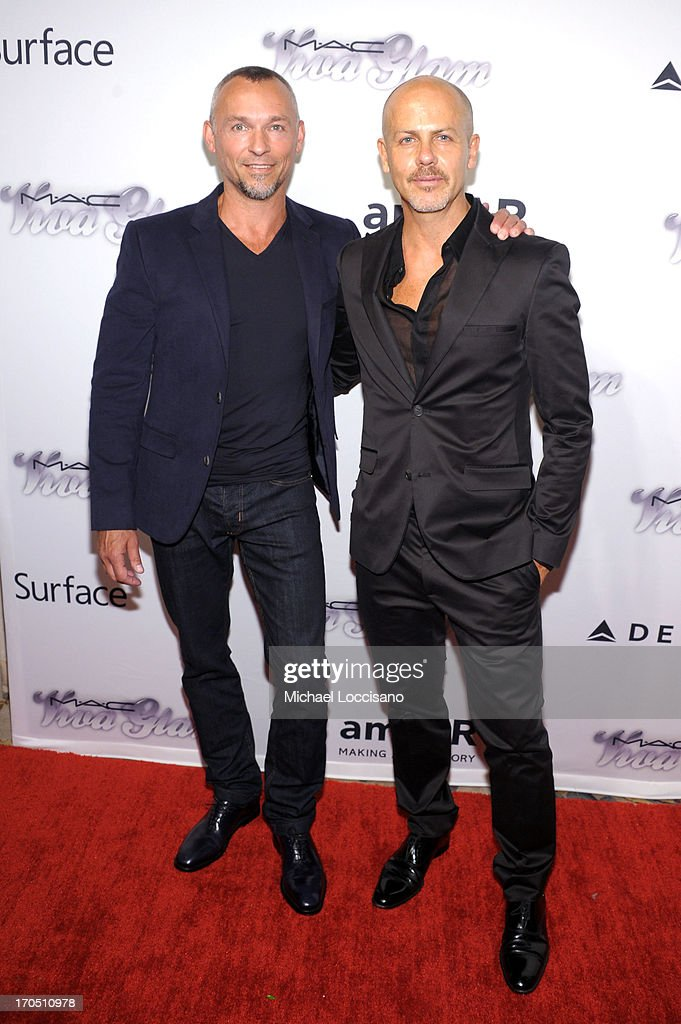 Quin Aluni and Designer Italo Zucchelli attend the 4th Annual amfAR Inspiration Gala New York at The Plaza Hotel on June 13, 2013 in New York City.