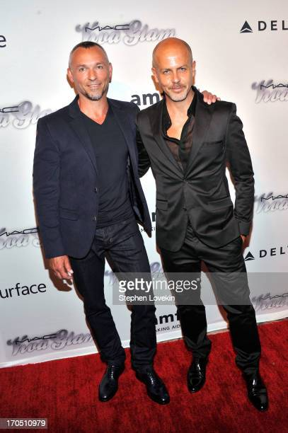 Quin Aluni and Designer Italo Zucchelli attend the 4th Annual amfAR Inspiration Gala New York at The Plaza Hotel on June 13 2013 in New York City