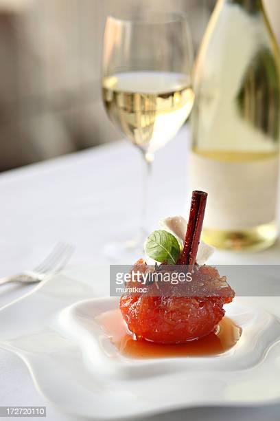 Quince Dessert & Wine