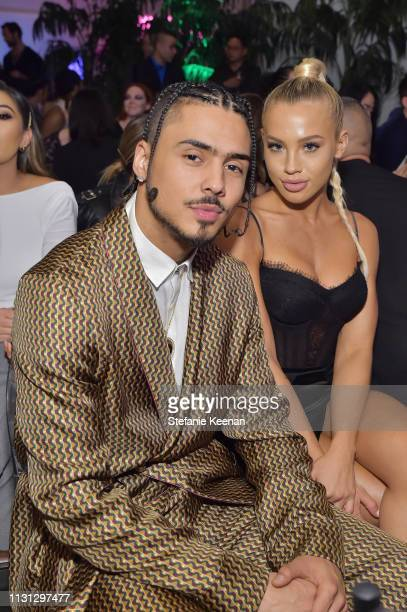 Quincy and Tammy Hembrow attend The Daily Front Row Fashion LA Awards 2019 on March 17 2019 in Los Angeles California
