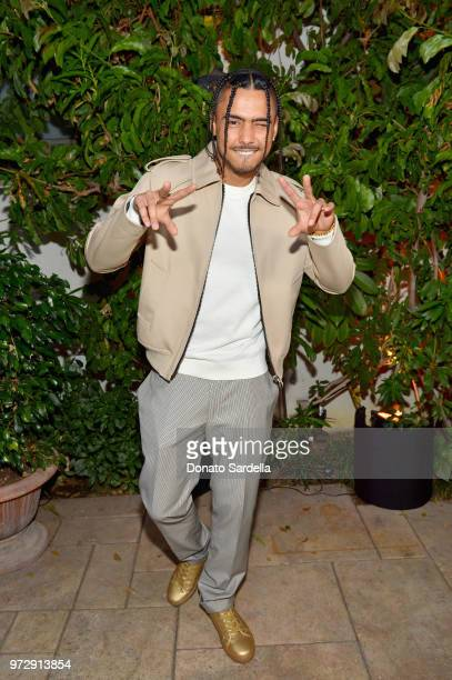 Quincy attends the Max Mara Celebration for Alexandra Shipp 2018 Women In Film Max Mara Face Of The Future Award Recipient at Chateau Marmont on June...