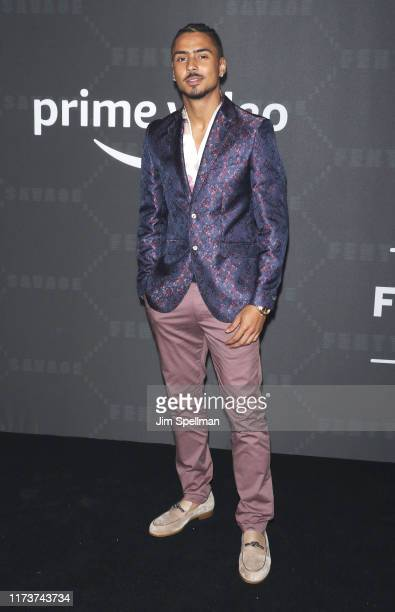 Quincy attends the Savage x Fenty arrivals during New York Fashion Week at Barclays Center on September 10 2019 in New York City