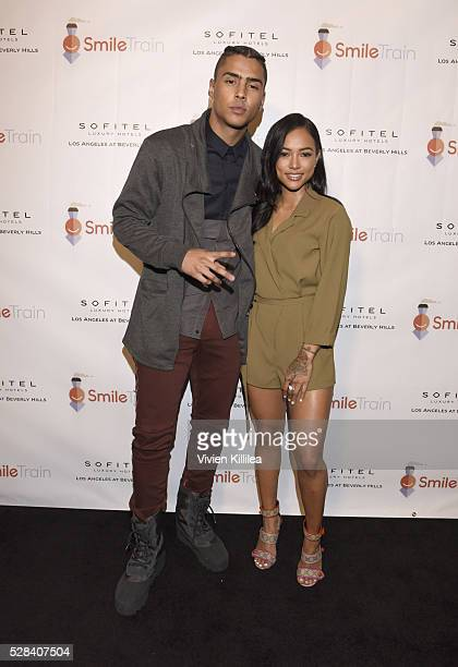 Quincy Brown and Karrueche Tran Host Smile Train YLC Los Angeles Benefit At Sofitel Beverly Hills at Riviera 31 on May 3 2016 in Beverly Hills...