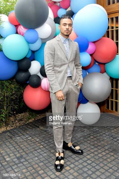 Quincy Brown attends David Yurman Pinky Ring Event on July 18 2018 in Los Angeles California