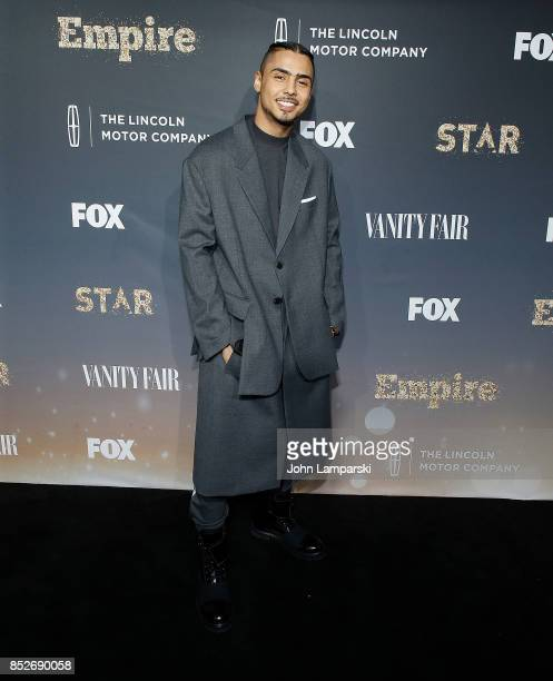 Quincy Brown attends Empire Star celebrate FOX's New Wednesday Night at One World Observatory on September 23 2017 in New York City