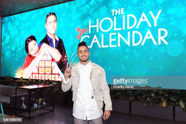 Quincy Brown attends The Holiday Calendar Special Screening Los Angeles at NETFLIX Icon Building on October 30 2018 in Los Angeles California