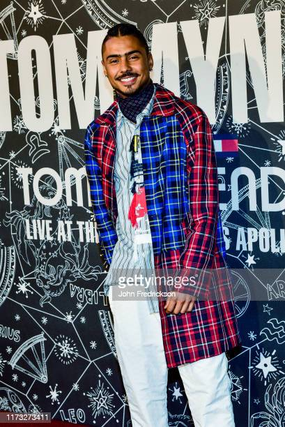 Quincy Brown attends the Tommy x Zendaya Runway Show at The Apollo Theater on September 08 2019 in New York City