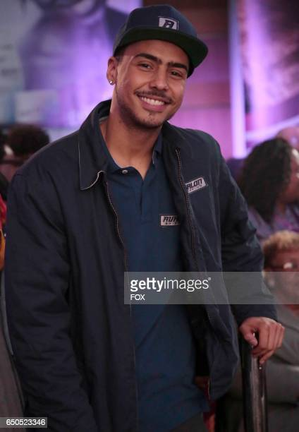 Quincy Brown in the Code of Silence episode of STAR airing Wednesday Jan 18 on FOX