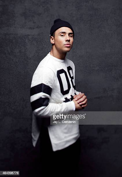 Quincy Brown is photographed for Los Angeles Times at the 2015 Sundance Film Festival on January 24 2015 in Park City Utah PUBLISHED IMAGE CREDIT...