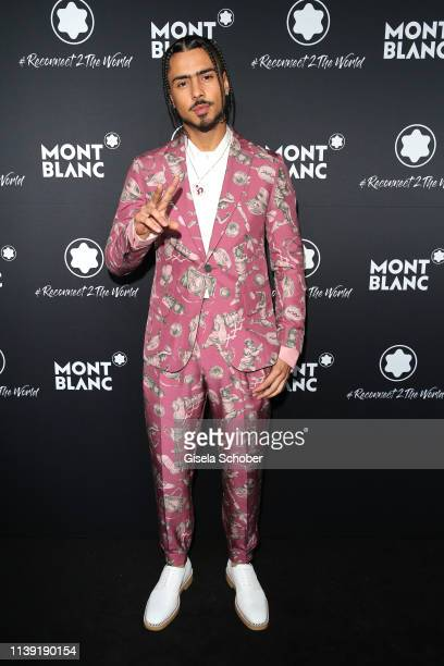 """Quincy Brown, son of P. Diddy, attend the """"To Berlin and Beyond with Montblanc: Reconnect To The World"""" launch event at Metropol Theater on April 24,..."""