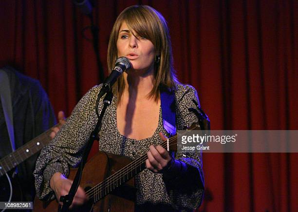 "Quincy Coleman during ASCAP Presents ""Quiet on the Set"" - December 4, 2006 at Hotel Cafe in Hollywood, California, United States."