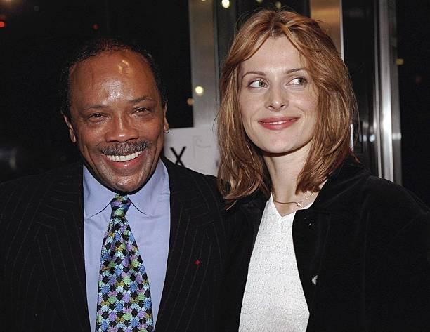 Quincy Jones and actress Nastassja Kinski get together at ...