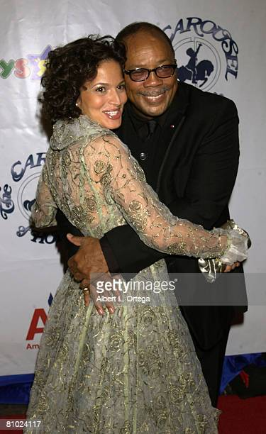 Quincy Jones and daughter