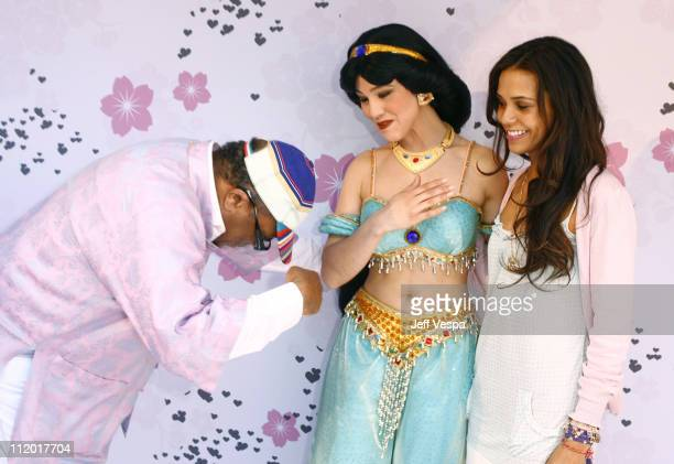 Quincy Jones and Kidada Jones during Kidada Jones Hosts Kidada for Disney Coutour Party at Private Residence in Bel Air California United States