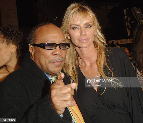 Quincy Jones and Kimberly Conrad Hefner during Get Rich Or Die Tryin' Los Angeles Premiere Arrivals at Grauman's Chinese Theater in Hollywood...