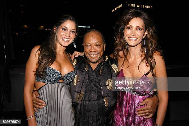 Quincy Jones and Patricia Lopez attend Miss Universe Post Pageant VIP Party hosted by Chuck Nabit Dave Geller Ed St John Greg Barnhill Freddie Wyatt...