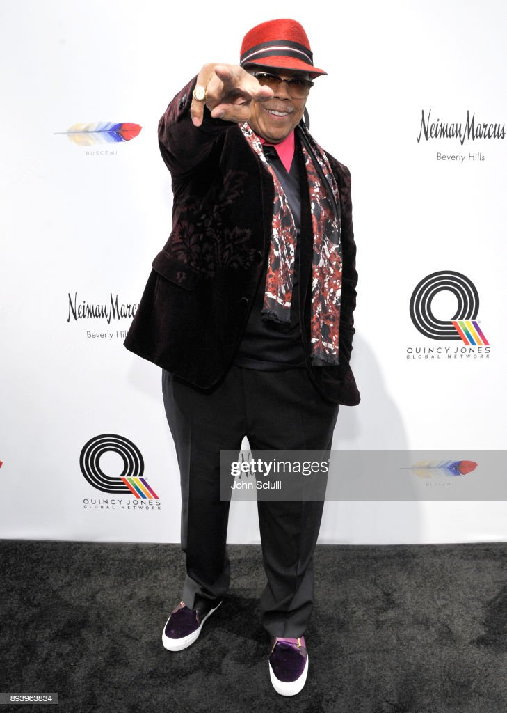 Quincy Jones attends Buscemi x Quincy Exclusive Launch at Neiman Marcus Beverly Hills on December 16, 2017 in Beverly Hills, California.