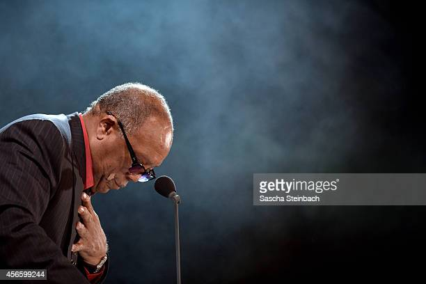 Quincy Jones attends the Steiger Award 2014 at Heinrichshuette on October 3 2014 in Hattingen Germany
