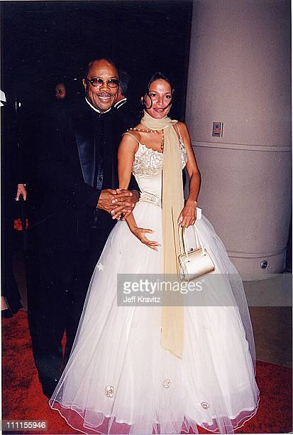 Quincy Jones during Carousel of Hope '98 in Los Angeles California United States
